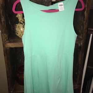 Victoria's Secret PINK mint green dress